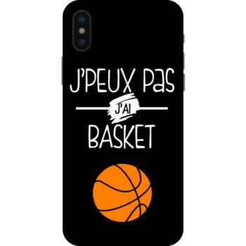 Lookmykase Coque j'peux pas j'ai basket  iPhone Xs
