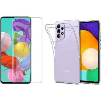Xeptio Samsung Galaxy A52s 5G gel tpu et vitre