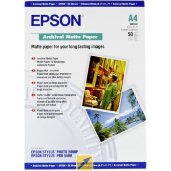 Epson mat archival A4 50 feuilles 192g