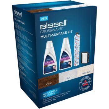 Bissell Multisurface détergent + brosse + filtre