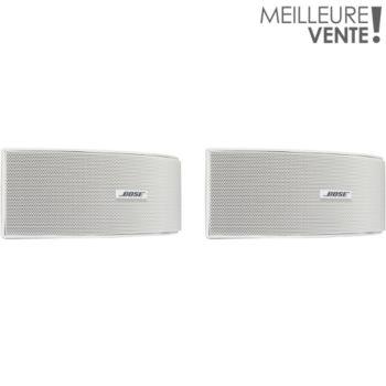 Bose 151 se blanc paire enceinte d 39 ext rieur boulanger for Haut parleur exterieur