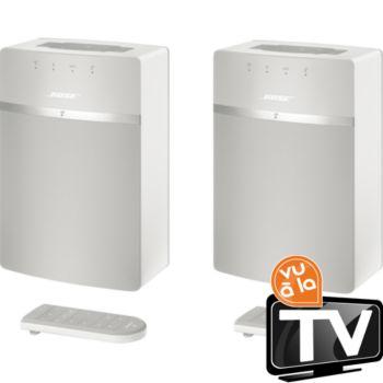 Bose SoundTouch 10 Blanc x2