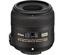 Objectif pour Reflex Nikon  AF-S DX 40mm f/2.8G