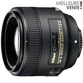 Objectif pour Reflex Nikon AF-S 85mm f/1.8G Nikkor