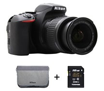 Appareil photo Reflex Nikon  D5600 + AF-P 18-55 VR + 16Go + sac