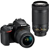 Appareil photo Reflex Nikon  D5600 + AF-P 18-55 VR + 70-300VR