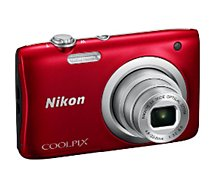 Appareil photo Compact Nikon Coolpix A100 rouge