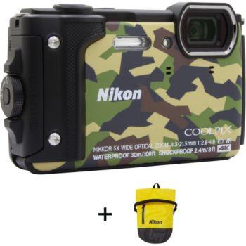 Nikon Coolpix W300 Camouflage + Sac étanche