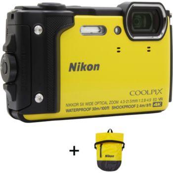 Nikon Coolpix W300 Jaune + Sac étanche