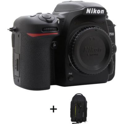 Location Appareil photo Reflex Nikon D7500 + Sac à dos Premium