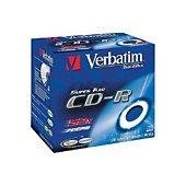 CD vierge Verbatim P10 80Min 52X JC