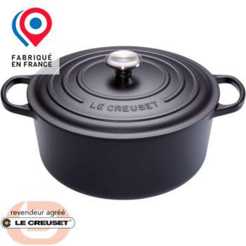 Le Creuset SIGNATURE Noire diam24cm