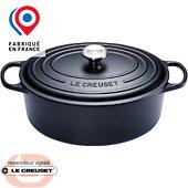 Cocotte ovale Le Creuset SIGNATURE Noire 29 cm