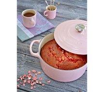Cocotte ronde Le Creuset  Chiffon Pink diam 24cm