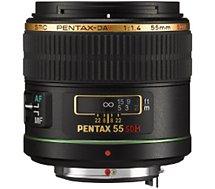 Objectif pour Reflex Pentax  SMC DA 55mm f/1.4 SDM