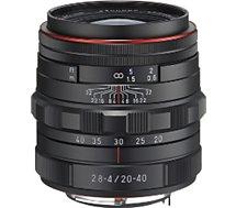 Objectif pour Reflex Pentax  HD DA 20-40mm f/2.8-4 noir ED DC WR Ltd