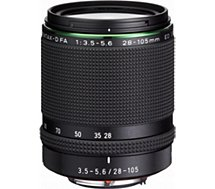 Objectif pour Reflex Plein Format Pentax HD DFA 28-105mm f/3.5-5.6 ED DC WR