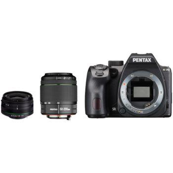 Pentax K-70 + 18-50mm RE + 50-200mm