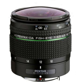 Pentax HD DA10-17mm Fish-eye f/3.5-4.5 ED IF