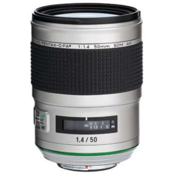 Pentax HD FA 50mm f/1.4 SDM AW Silver Edition