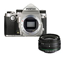 Appareil photo Reflex Pentax  KP Silver + 18-50mm