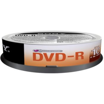 Sony DVD-R Spindle 4.7GB X10