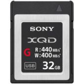 Carte XQD Sony XQD 32Go G Series