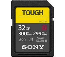 Carte SD Sony  UHS-II G TOUGH series CL10 U3 32Go