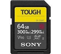Carte SD Sony  UHS-II G TOUGH series CL10 U3 64Go