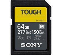 Carte SD Sony  UHS-II M Tough series 64 Go
