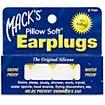 Bouchons anti-bruit Mack's Bouchons d'Oreilles en Silicone 2 Paires