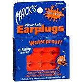 Bouchons anti-bruit Mack's Bouchons d'Oreilles Waterproof Enfants M
