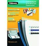 Reliure dossier Fellowes  Kit de reliure 20 documents