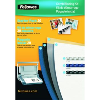 Fellowes Kit de reliure 20 documents