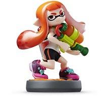 Figurine Amiibo Nintendo  Amiibo Splatoon Girl (Fille Inkling)