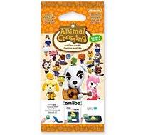 Pack cartes Amiibo Nintendo  3 cartes Animal Crossing Série 2