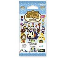 Pack cartes Amiibo Nintendo  3 cartes Animal Crossing Série 3