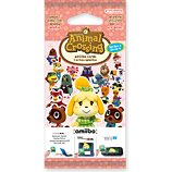 Pack cartes Amiibo Nintendo  3 cartes Animal Crossing Série 4