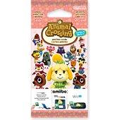 Pack cartes Amiibo Nintendo 3 cartes Animal Crossing HDD Série 4