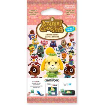 Nintendo 3 cartes Animal Crossing HDD Série 4