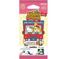 Pack cartes Amiibo Nintendo  6 cartes Animal Crossing Série Sanrio