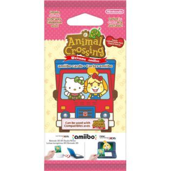 Nintendo 6 cartes Animal Crossing Série Sanrio