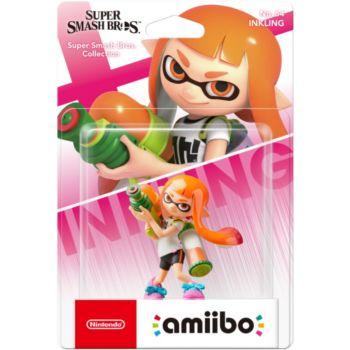 Nintendo Amiibo Fille Inkling N°64 SSB