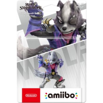 Nintendo Amiibo Wolf N°63 SSB