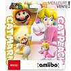 Figurine Amiibo Nintendo Pack 2x Mario Chat et Peach Chat