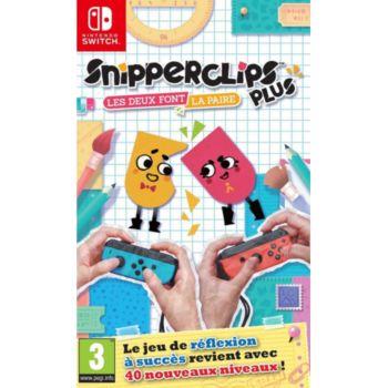 Nintendo Snipperclips Plus Les Deux Font La Paire