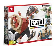 Jeu Switch Nintendo  Labo Kit Vehicules
