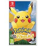 Jeu Switch Nintendo  Pokémon Let's Go Pikachu