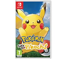 Jeu Switch Nintendo  Pokémon Let's Go Pikachu