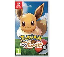 Jeu Switch Nintendo  Pokémon Let's Go Evoli
